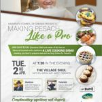 """Making Pesach Like a Pro"": Tuesday April 2, 2019"