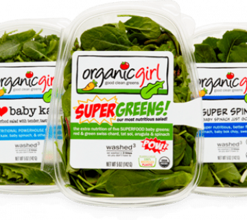 Organic Girl Leafy Vegetables